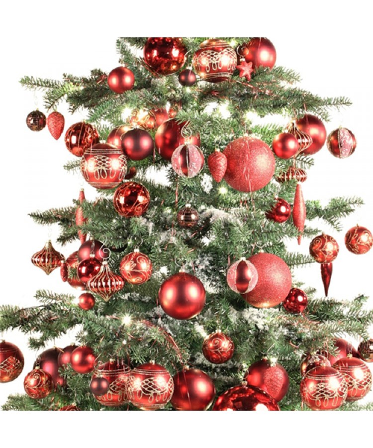 Luxury Tree Warm Bordeaux 240cm-912