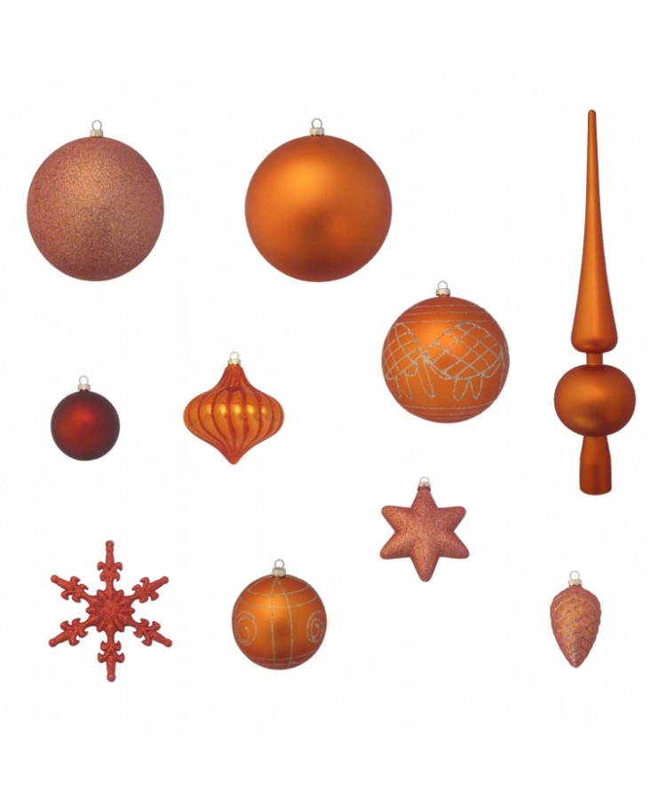 Luxury-Tree-Copper-210cm-Ornaments