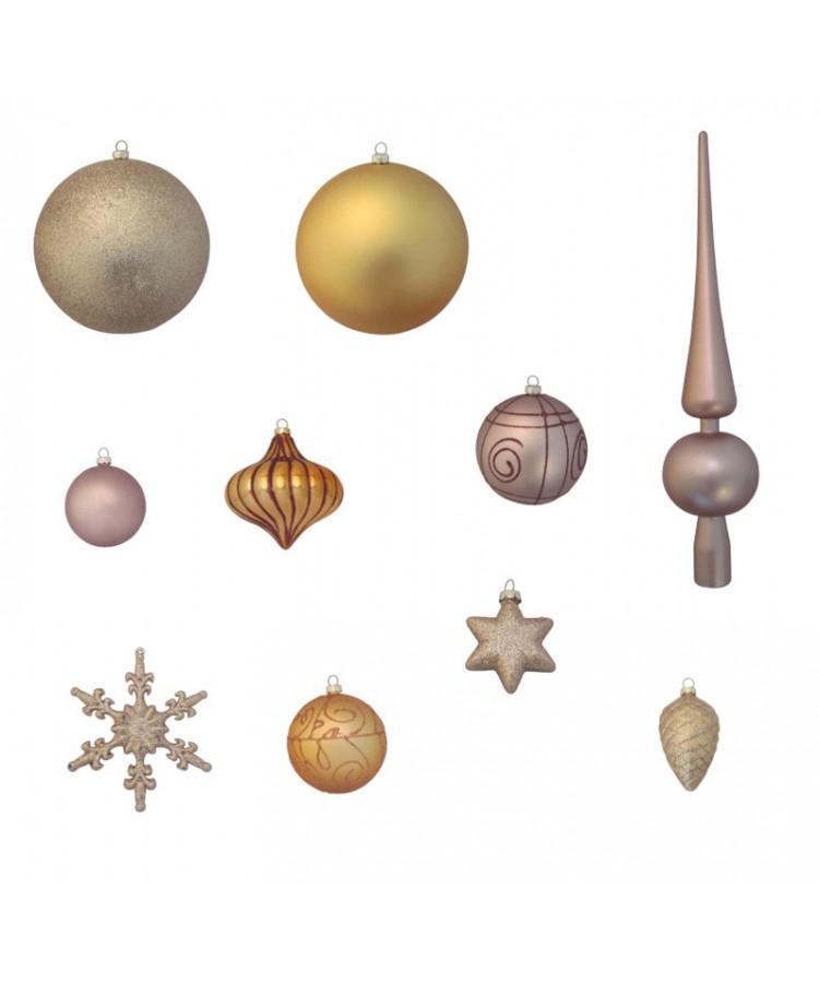 Luxury-Tree-Gold-120cm-Ornaments