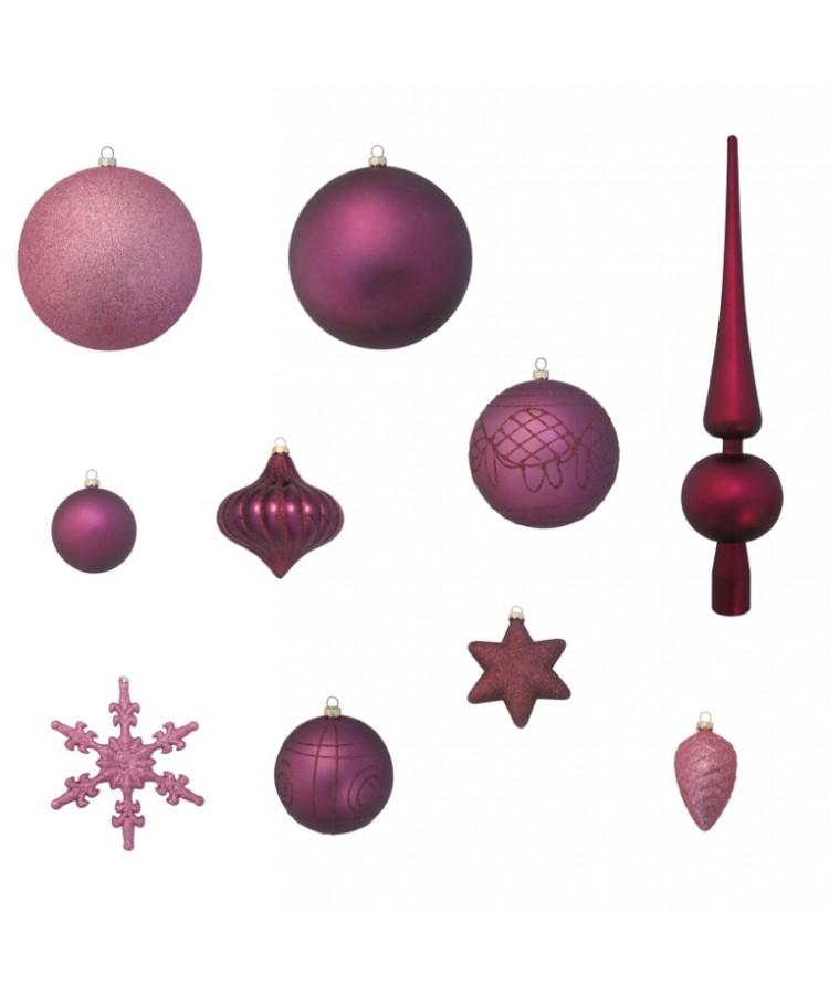 Luxury-Tree-Purple-210cm-Ornaments