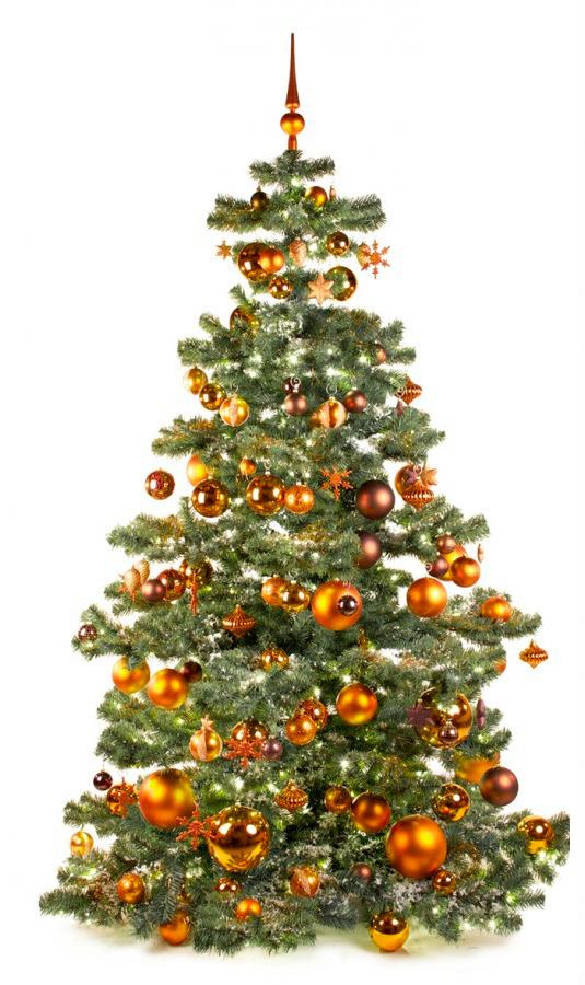 Basic Tree Warm Copper 210cm-1446