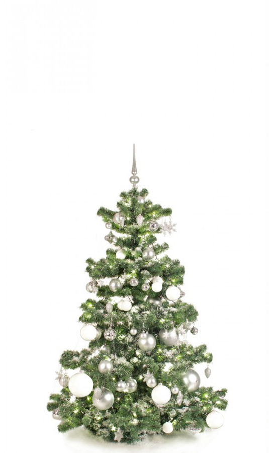Basic Tree Bright and Silver 150cm-1423