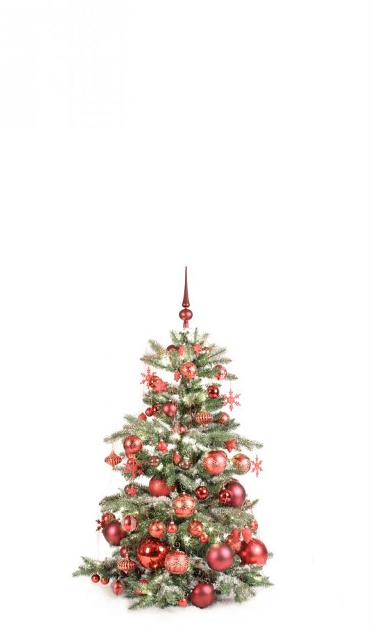 Luxury Tree Warm Bordeaux 120cm-1418