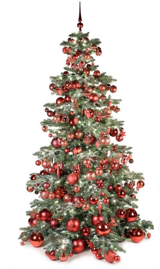 Luxury Tree Warm Bordeaux 240cm-1415
