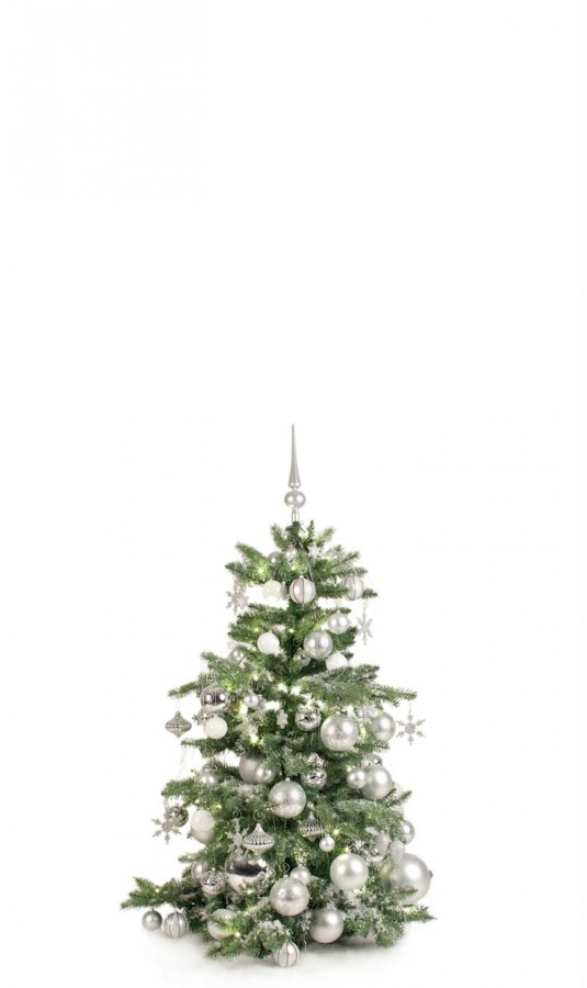 Luxury Tree Bright and Silver 120cm-1395