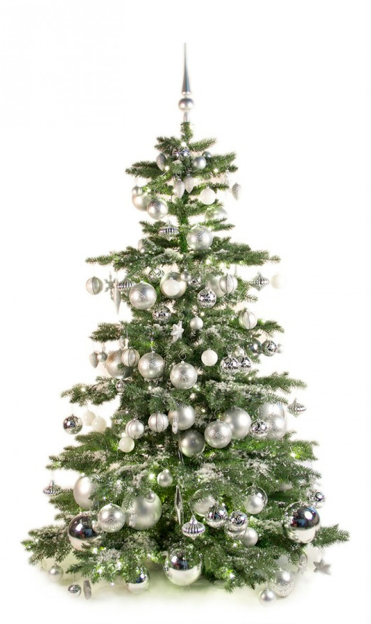 Luxury Tree Bright and Silver 210cm-1398