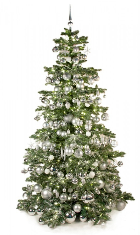 Luxury Tree Bright and Silver 240cm-1399