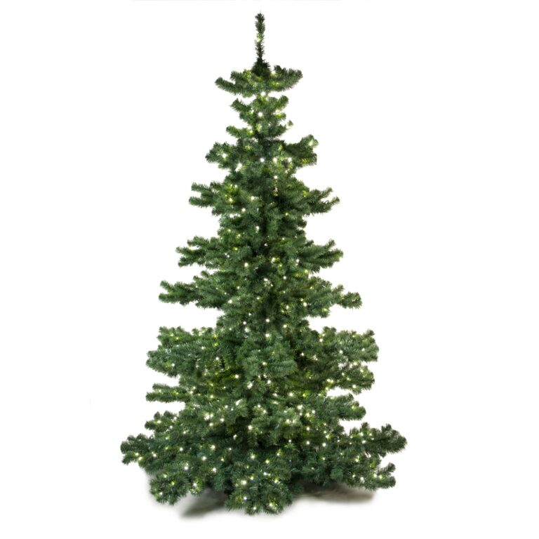 Basic Tree Bright and Silver 240cm-1648