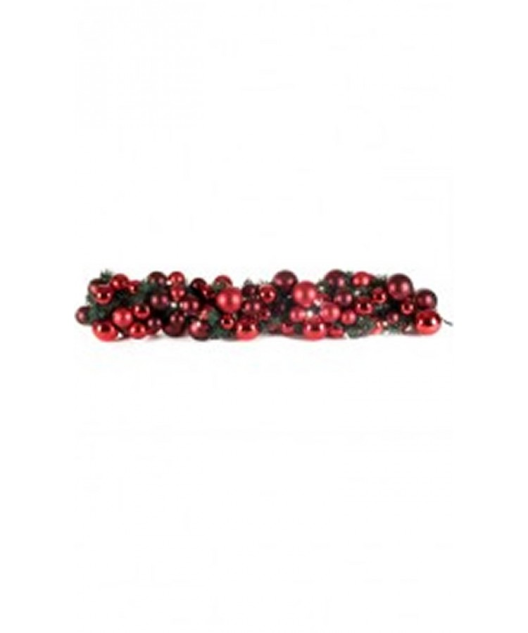 Luxury Garland Warm Bordeaux 100cm-1103