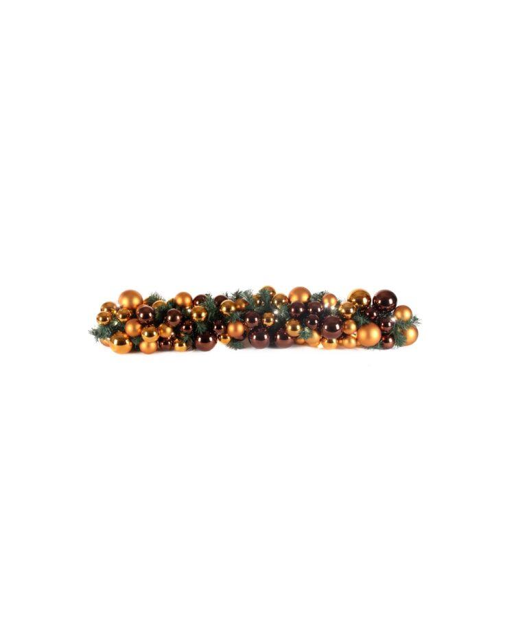 Luxury Garland Warm Copper 100cm-0