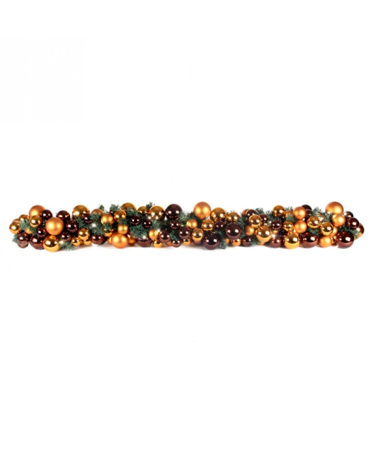 Luxury Garland Warm Copper 200cm-1099