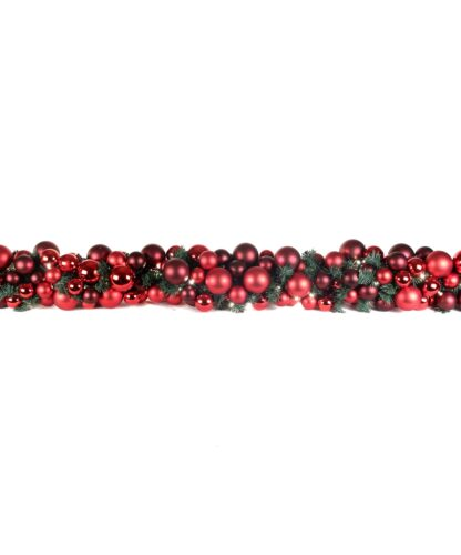 Luxury Garland Warm Bordeaux 200cm-0