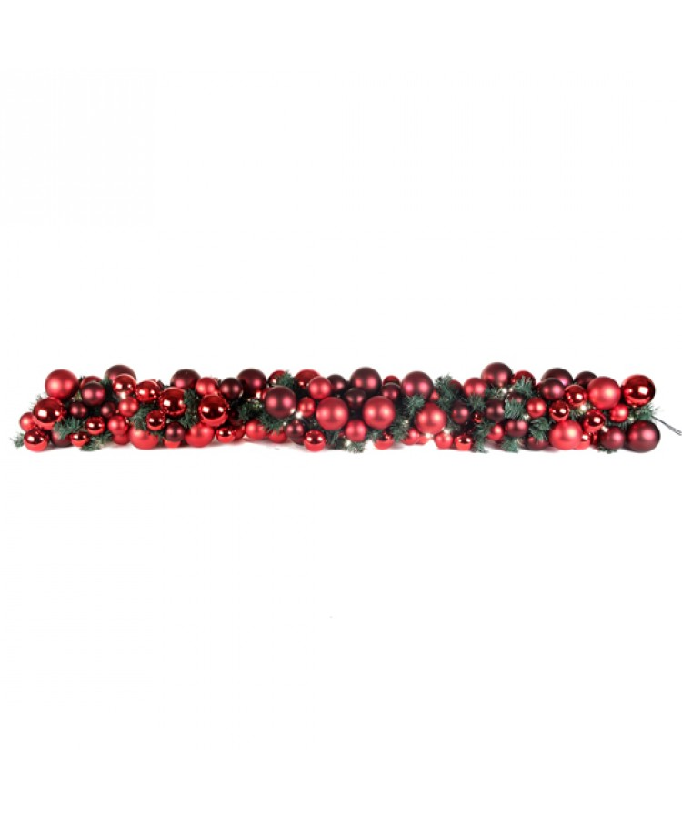 Luxury Garland Warm Bordeaux 200cm-1105