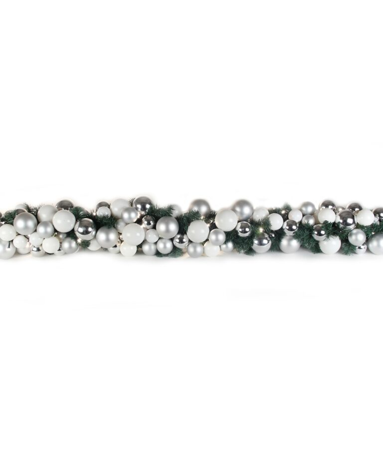 Luxury Garland Bright and Silver 200cm-0