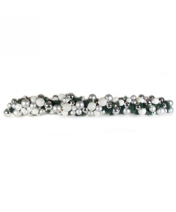 Luxury Garland Bright and Silver 200cm-1111